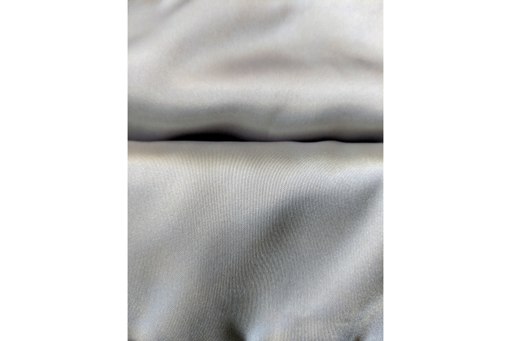 Poly Satin Silver Lining