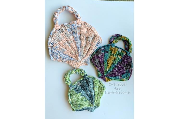 Seashell Purse 3 sizes