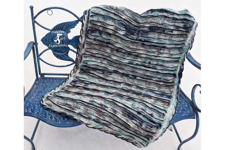 Sea Breeze Baby Blanket