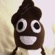 Adult/Teen Poop Emoji Hat in Brown with Ear Flaps