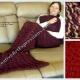 Red Mermaid Blankets