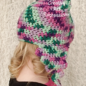 Ready to Ship, Purple, Green, Mint, & Pink Unicorn Poop Emoji Inspired, Toddler Crocheted Hat, Unicorn Poo Hat, Toddler Girl Gifts, Hipster Hat, Crocheted Hat, Handmade