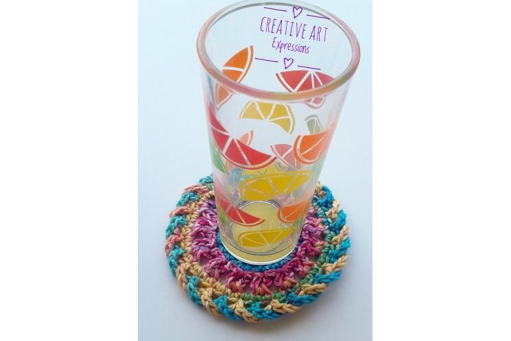 Crocheted Coaster
