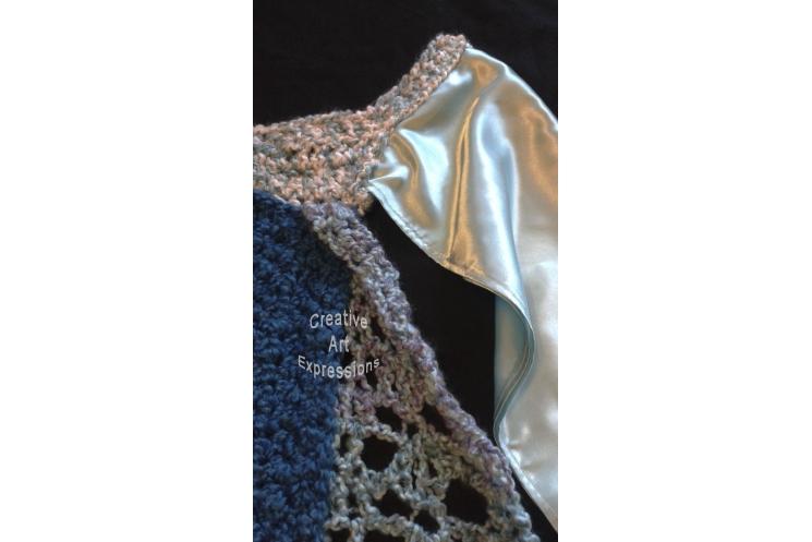 Ice Snow Princess Dress Blanket Thick & soft