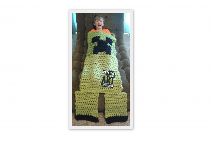MOB Gamer Blanket Toddler Preschool