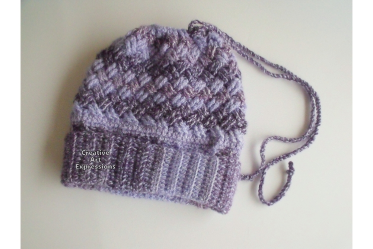 Messy Bun Ponytail Hat Cowl Combo