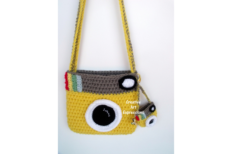 Yellow Camera Purse