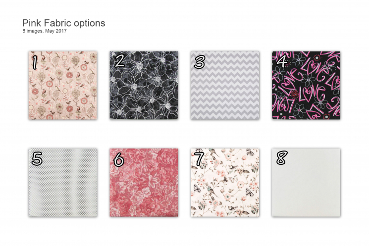 Pink Fabric Options