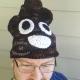 Shades of Brown Large Adult Poop Emoji Hat