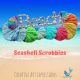 Crocheted Seashell Scrubbies