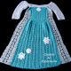 Ice Snow Princess Dress Blanket