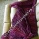 Back of Mermaid Blanket in Ambrosia