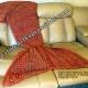 Mermaid Blanket in Mandarin