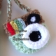 Mint Green Camera Purse Key Chain