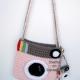 Pink Camera Purse