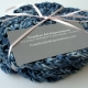 Blue Denim Crocheted Cotton Coasters