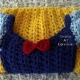 Fair Princess Dress Blanket Crocheted Toddler