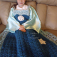 Ice Snow Princess Dress Blanket Thick & soft