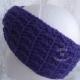 Twisted Headband in Grape