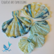 Crocheted Seashell Towel & Scrubby Set in Paris in June