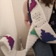 Toilet Paper Unicorn Poop Emoji Scarf Adult Teen