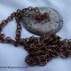 Creative Art Expressions Handmade Antique Copper Circle Necklace