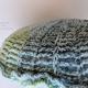 Blue & Green Seashell Pillow Large