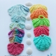 Seashell Scrubbies crocheted