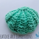 Small Tulle Seashell Scrubby