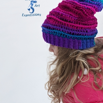 Ocean Deep Slouchy Sea Breeze Hat
