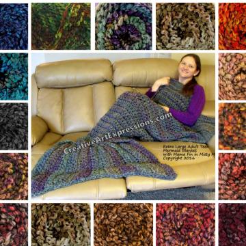 Yarn Bee Fireside Color Choices