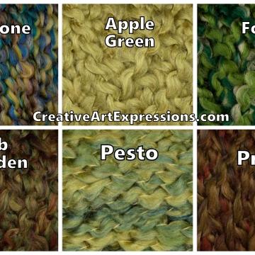 Green Lion Brand Homespun Colors