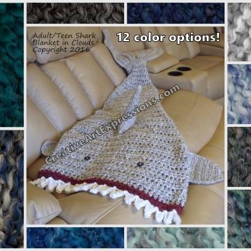 Shark Blanket Colors