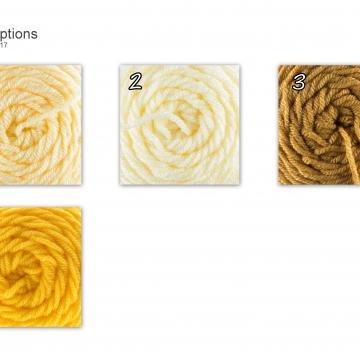 Yellow Yarn Choices