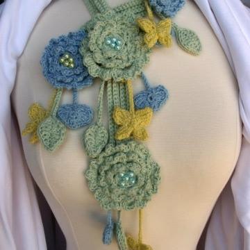 Neck Art Crocheted