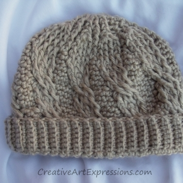 Winter Style Hats Crocheted
