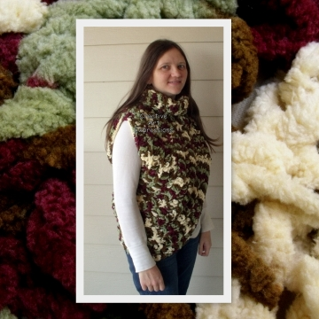 Katniss Cowl Inspired, Everdeen Huntress Cowl, Scarf, Crocheted Half Sweater,Dark Red, Light Green, White, Brown Ready to Ship, Adult Women Scarf, Small/Medium